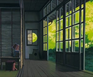 house and studio ghibli image