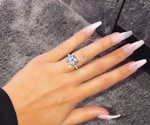 gioielli, nails, and wedding image