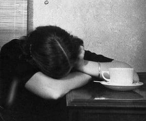aesthetic, coffee, and girl image