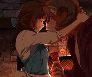 disney, princess, and the beauty and the beast image