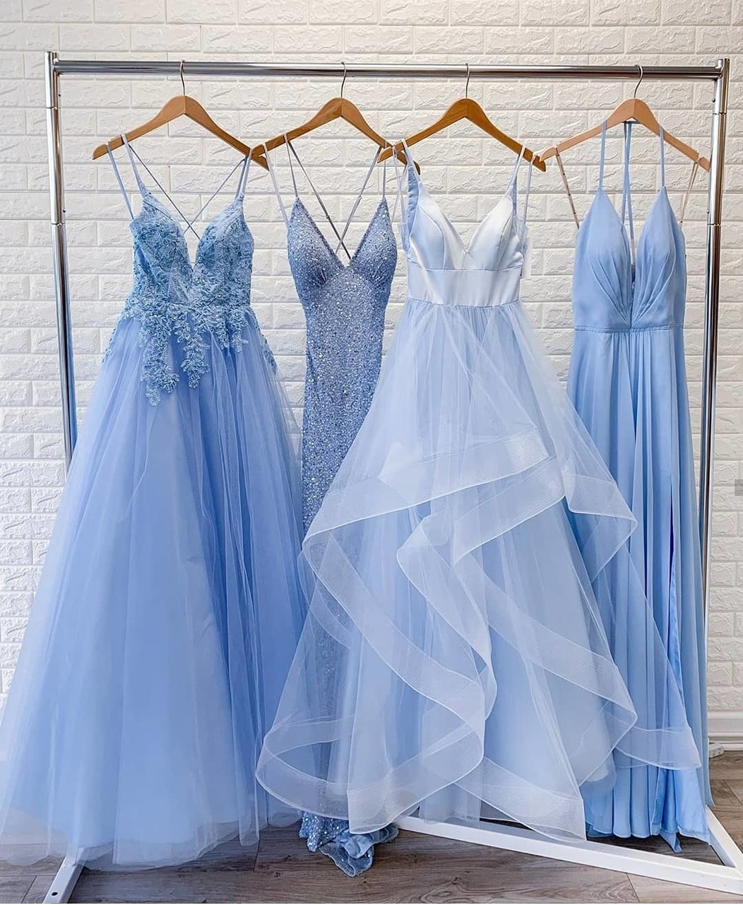 blue, fashion, and dress image