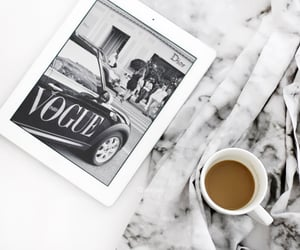 vogue, coffee, and style image