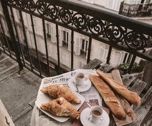 coffee, paris, and breakfast image