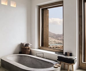 bathroom, beautiful, and decor image