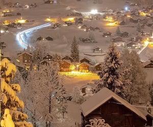nature, switzerland, and winter image