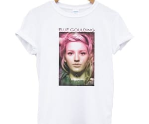 Ellie Goulding and t shirt image