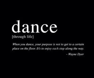 dance, life, and love image