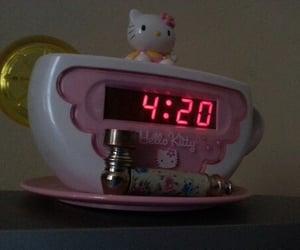 aesthetic, 420, and hello kitty image