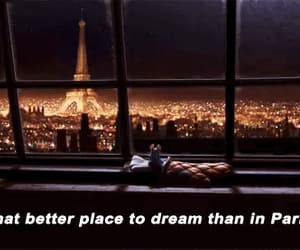 citylights, eiffel tower, and gif image