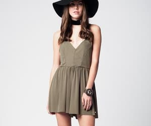 fashion, romper, and style image