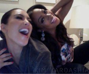 bff, kim kardashian, and LaLa image