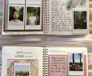 journal and photography image
