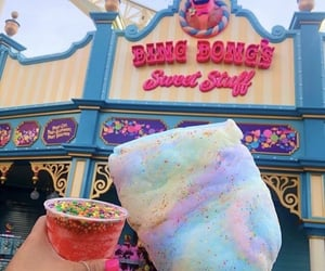 disney, sweet, and cotton candy image