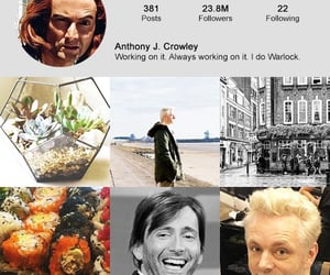 aesthetic, good omens, and otp image