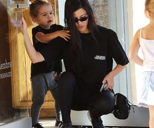 kourtney kardashian and reign disick image