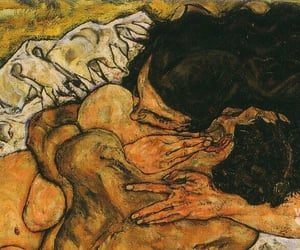 egon schiele and lovers image
