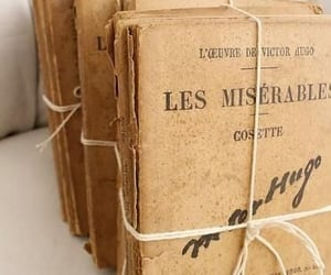 book, books, and les miserables image