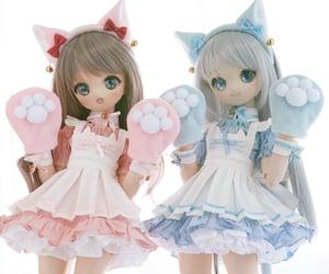 dolls, matching, and animecore image