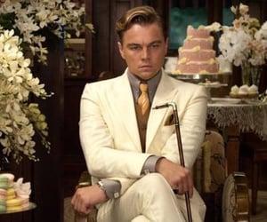 leonardo dicaprio, the great gatsby, and jay gatsby image