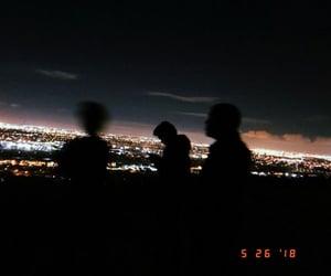 dark, night lights, and photography image