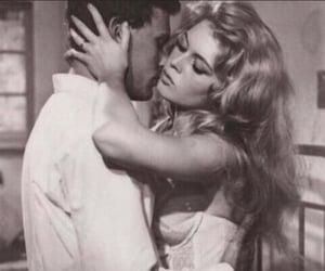 vintage, couple, and brigitte bardot image