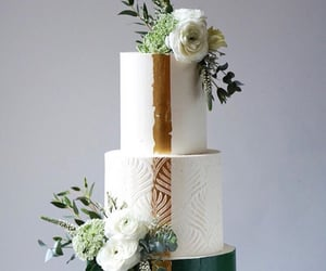 anniversary, cake, and flower image