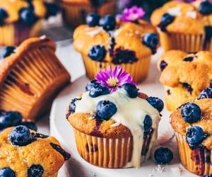 blueberries, breakfast, and dessert image
