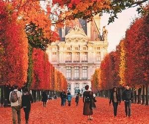 travel, pink, and paris image
