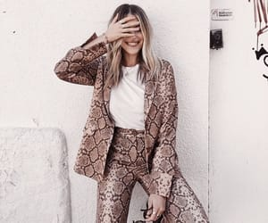 accessories, animal print, and chic image