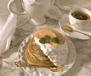 baking, breakfast, and tea image