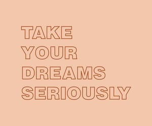 quotes, Dream, and motivation image