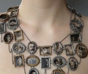 necklace, vintage, and photo image