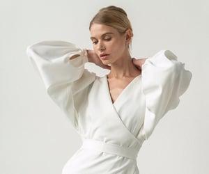 dress, weddings, and fashion image