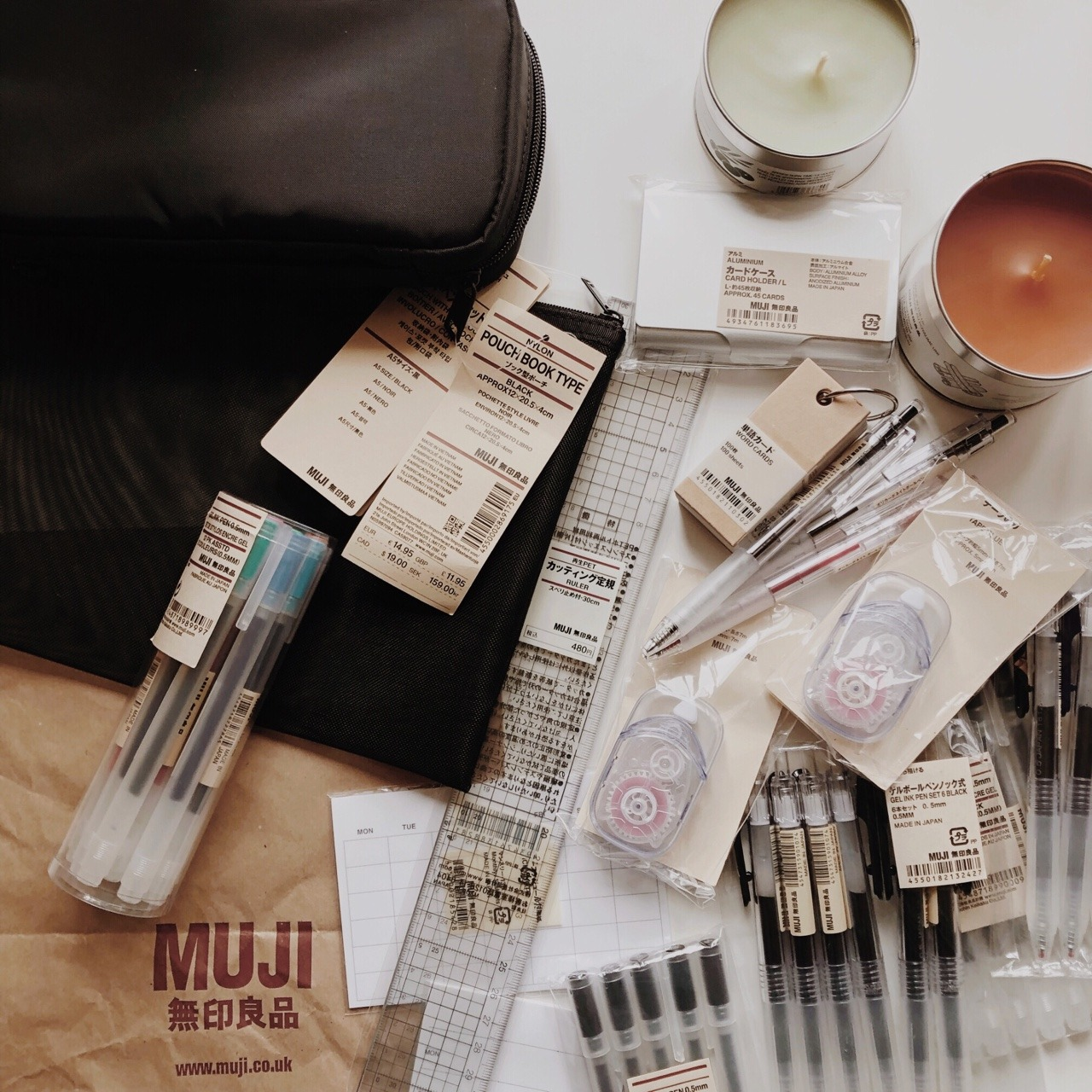 article, studying, and whats in my bag image