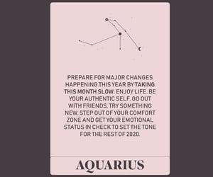 aquarius and horoscope image