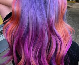 beauty, colors, and dye image