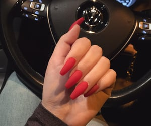 beauty, nails, and wednesday image