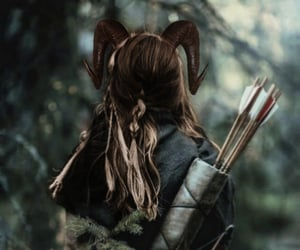archer, archery, and elf image