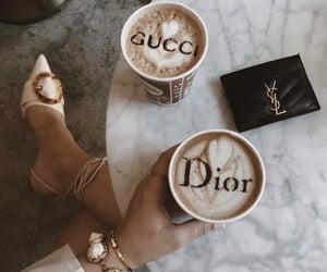 coffee, dior, and gucci image