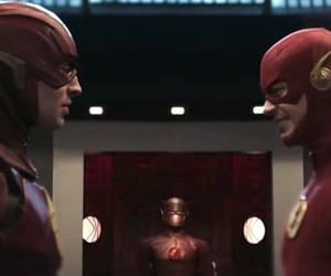 the flash, ezra miller, and barry allen image