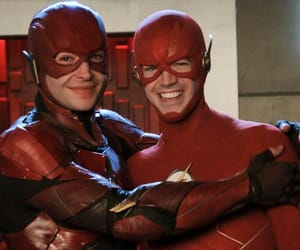 the flash, barry allen, and ezra miller image