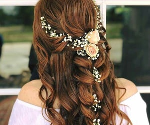 hair, glam, and hairstyle image