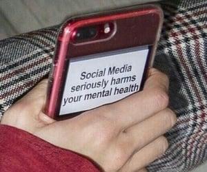 mental health and social media image