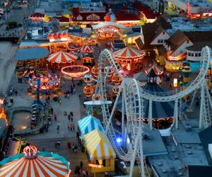 light, carnival, and fun image