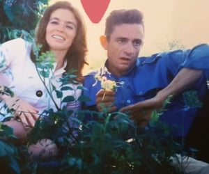 60s, johnny, and Johnny Cash image