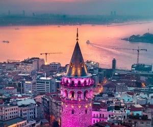 galata kulesi, istanbul, and turkey image
