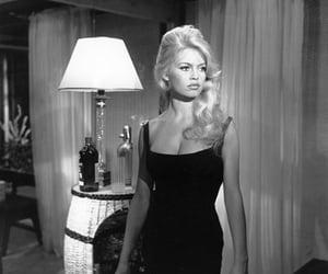 brigitte bardot, black and white, and pretty image