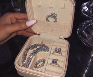 rings, luxurious, and luxury image