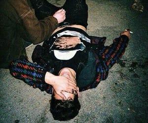boy, grunge, and drunk image