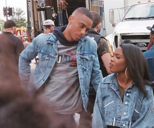 couples, keith powers, and black love image